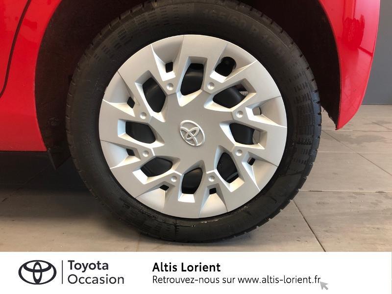 Photo 4 de l'offre de TOYOTA Aygo 1.0 VVT-i 72ch x-play 5p MY20 à 12140€ chez Altis - Toyota Lorient