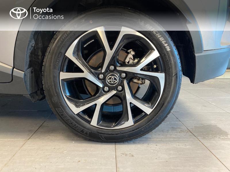 Photo 4 de l'offre de TOYOTA C-HR 122h Edition 2WD E-CVT RC18 à 21980€ chez Altis - Toyota Lorient