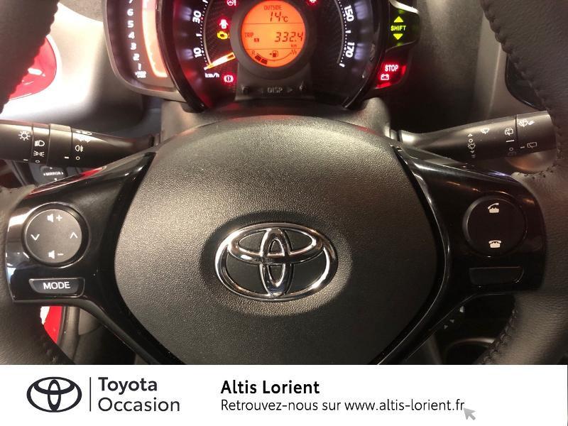 Photo 10 de l'offre de TOYOTA Aygo 1.0 VVT-i 72ch x-play 5p MY20 à 12140€ chez Altis - Toyota Lorient