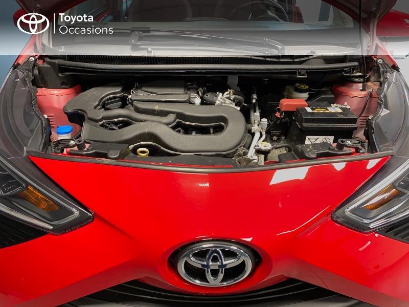 Photo 17 de l'offre de TOYOTA Aygo 1.0 VVT-i 72ch x-play x-app 5p à 10990€ chez Altis - Toyota Lorient