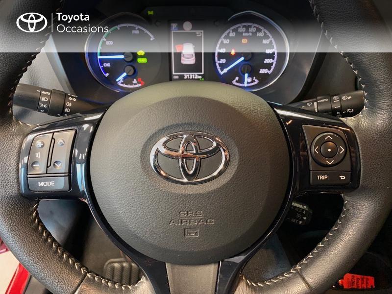 Photo 15 de l'offre de TOYOTA Yaris 100h Dynamic 5p à 13990€ chez Altis - Toyota Lorient