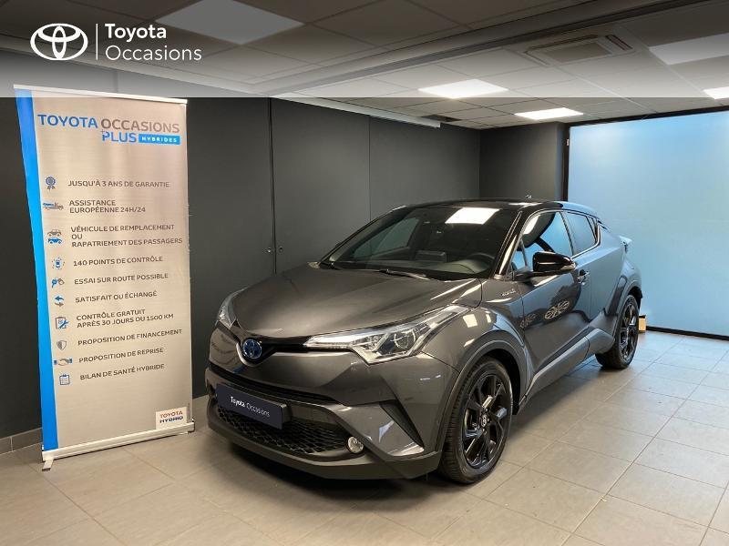Photo 5 de l'offre de TOYOTA C-HR 122h Graphic 2WD E-CVT RC18 à 22990€ chez Altis - Toyota Lorient