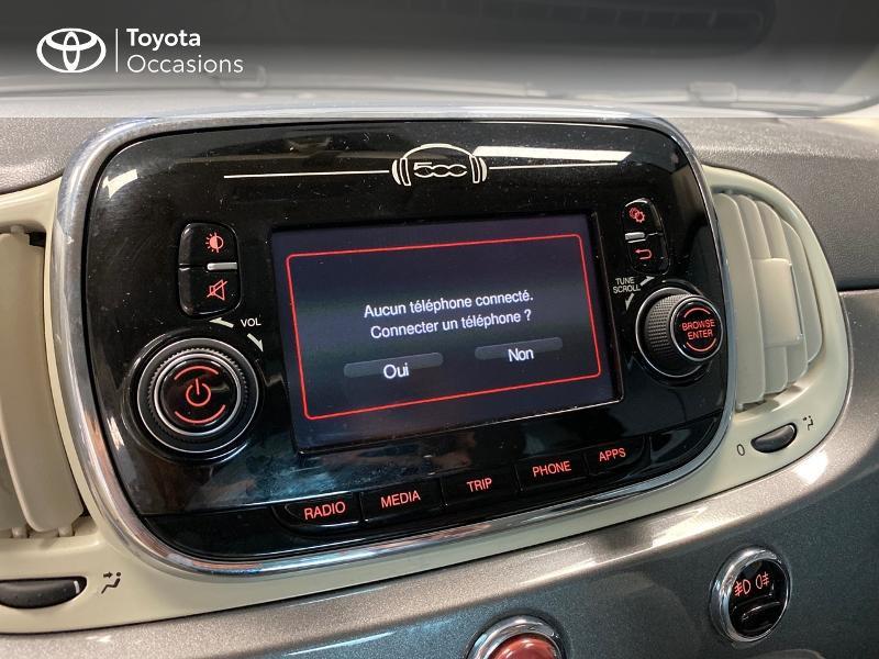 Photo 9 de l'offre de FIAT 500 1.2 8v 69ch Lounge à 9990€ chez Altis - Toyota Lorient