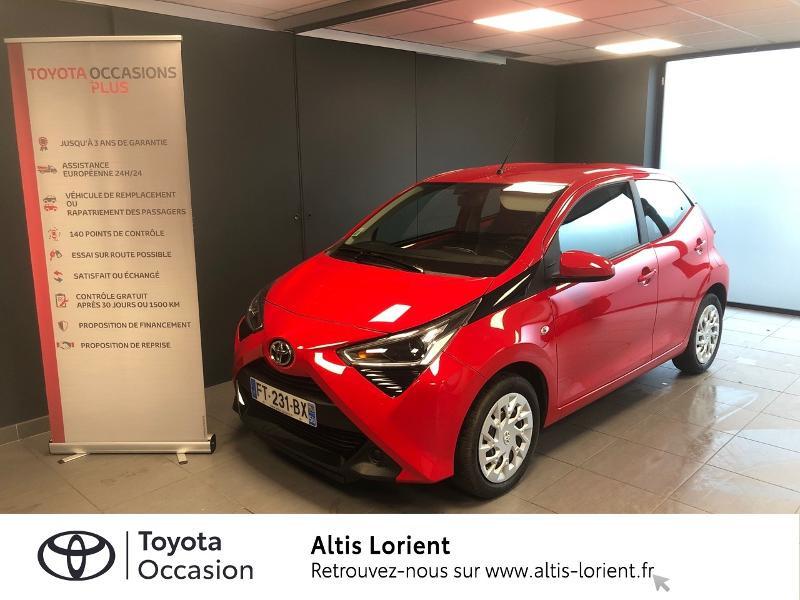 Photo 1 de l'offre de TOYOTA Aygo 1.0 VVT-i 72ch x-play 5p MY20 à 12140€ chez Altis - Toyota Lorient