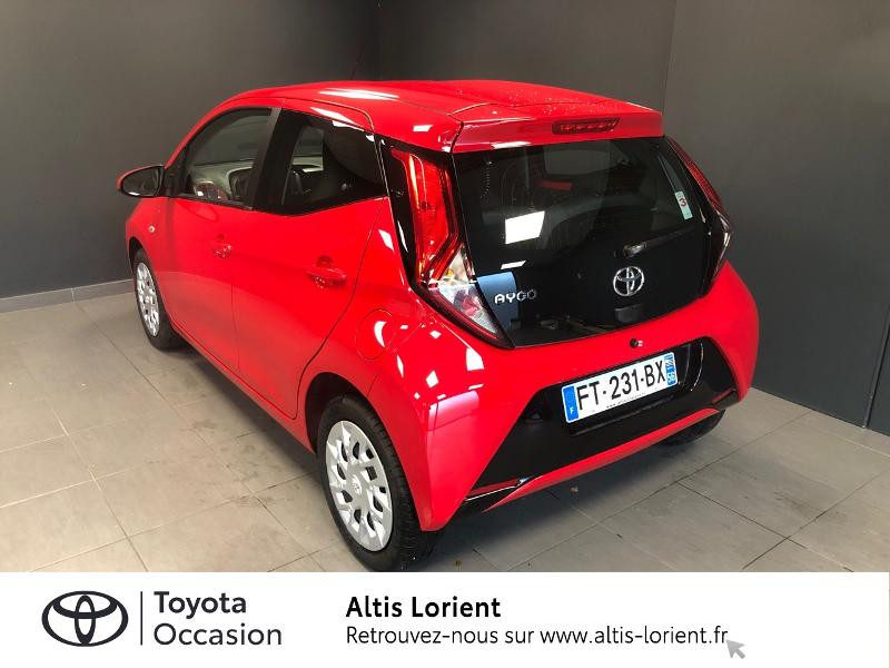 Photo 2 de l'offre de TOYOTA Aygo 1.0 VVT-i 72ch x-play 5p MY20 à 12140€ chez Altis - Toyota Lorient