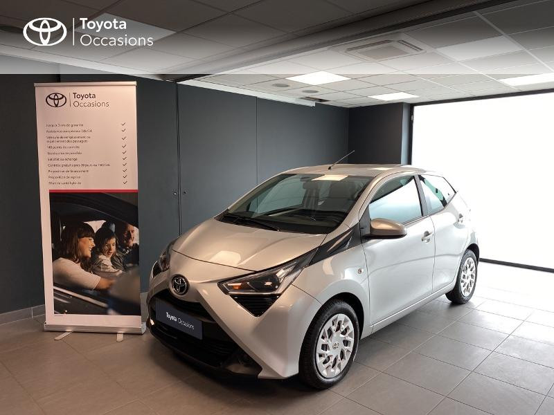 Toyota Aygo 1.0 VVT-i 72ch x-play 5P MY19 Essence GRIS Occasion à vendre