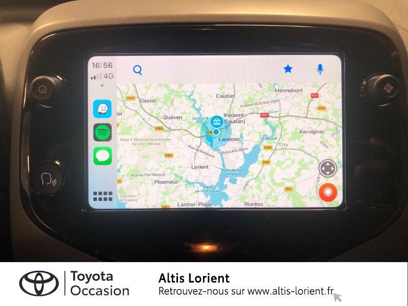 Photo 18 de l'offre de TOYOTA Aygo 1.0 VVT-i 72ch x-play 5p MY20 à 12140€ chez Altis - Toyota Lorient