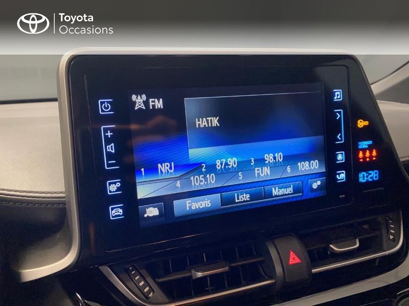 Photo 11 de l'offre de TOYOTA C-HR 122h Edition 2WD E-CVT RC18 à 20990€ chez Altis - Toyota Lorient