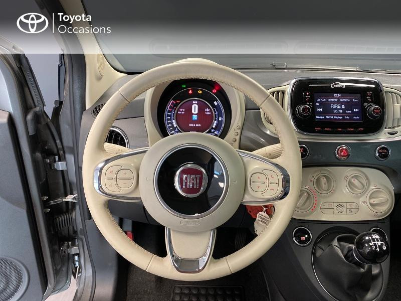 Photo 8 de l'offre de FIAT 500 1.2 8v 69ch Lounge à 9990€ chez Altis - Toyota Lorient