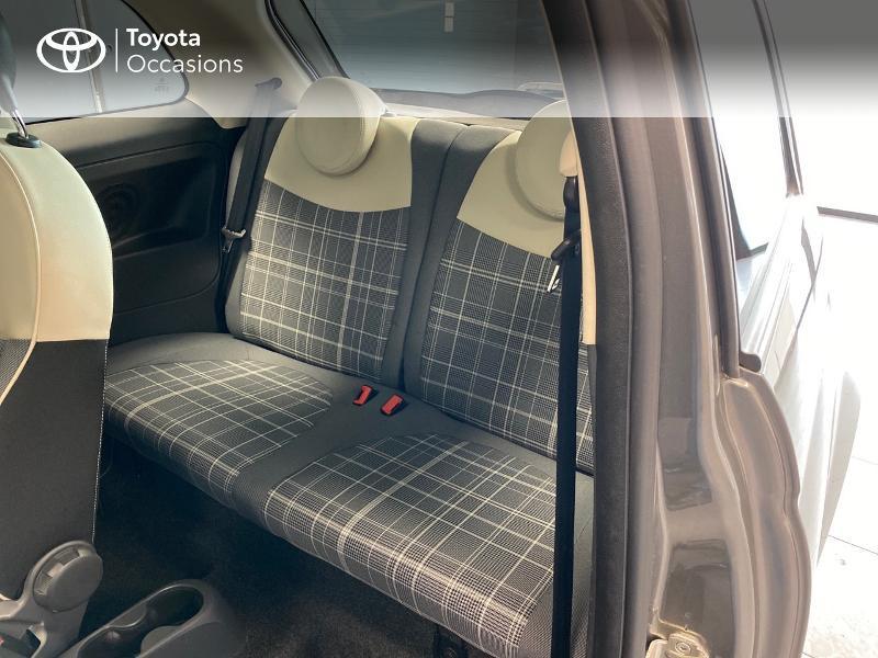 Photo 7 de l'offre de FIAT 500 1.2 8v 69ch Lounge à 9990€ chez Altis - Toyota Lorient