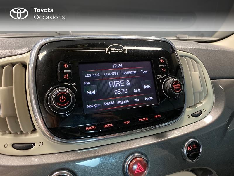 Photo 11 de l'offre de FIAT 500 1.2 8v 69ch Lounge à 9990€ chez Altis - Toyota Lorient
