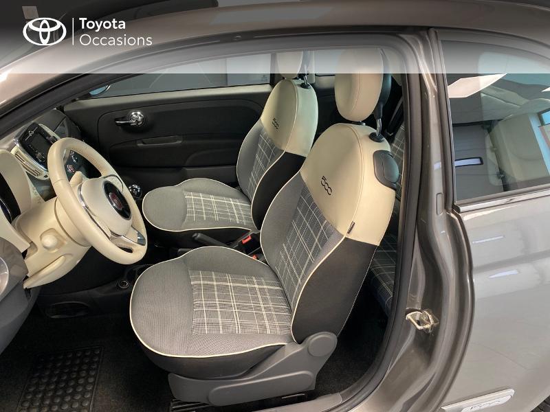 Photo 6 de l'offre de FIAT 500 1.2 8v 69ch Lounge à 9990€ chez Altis - Toyota Lorient