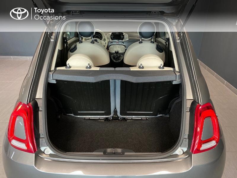 Photo 10 de l'offre de FIAT 500 1.2 8v 69ch Lounge à 9990€ chez Altis - Toyota Lorient