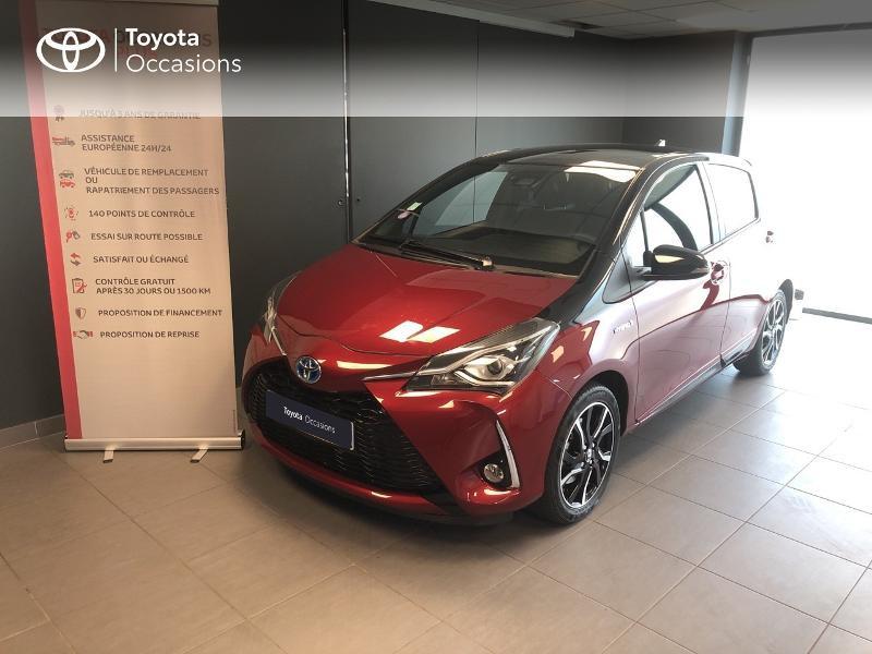Photo 1 de l'offre de TOYOTA Yaris 100h Collection 5p à 15990€ chez Altis - Toyota Lorient