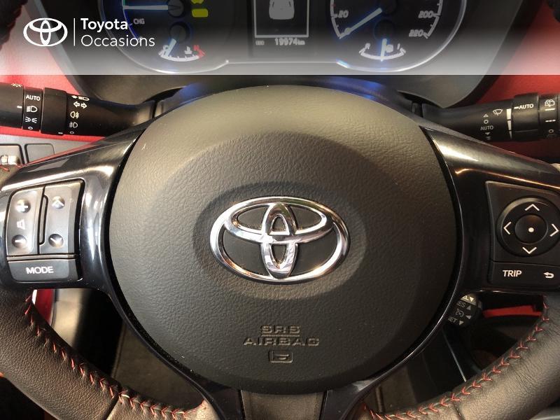 Photo 10 de l'offre de TOYOTA Yaris 100h Collection 5p à 15990€ chez Altis - Toyota Lorient