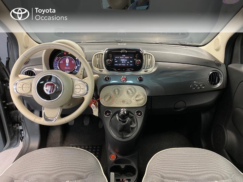 Photo 12 de l'offre de FIAT 500 1.2 8v 69ch Lounge à 9990€ chez Altis - Toyota Lorient