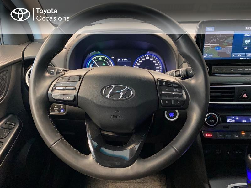 Photo 8 de l'offre de HYUNDAI Kona 1.6 GDi hybrid 141ch Edition 1 DCT-6 Euro6d-T EVAP à 21990€ chez Altis - Toyota Lorient