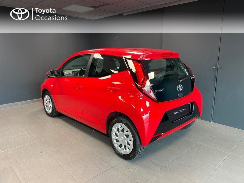 Photo 2 de l'offre de TOYOTA Aygo 1.0 VVT-i 72ch x-play x-app 5p à 10990€ chez Altis - Toyota Lorient
