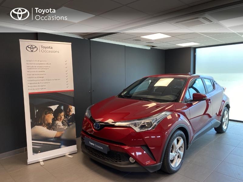Toyota C-HR 122h Dynamic 2WD E-CVT Hybride rouge Occasion à vendre