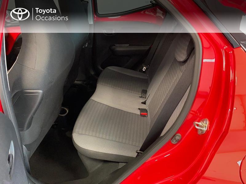 Photo 6 de l'offre de TOYOTA Aygo 1.0 VVT-i 72ch x-play x-app 5p à 10990€ chez Altis - Toyota Lorient