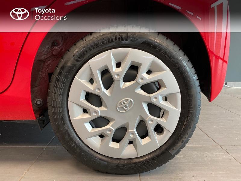 Photo 10 de l'offre de TOYOTA Aygo 1.0 VVT-i 72ch x-play x-app 5p à 10990€ chez Altis - Toyota Lorient