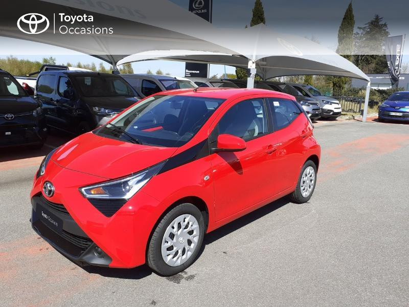 Toyota Aygo 1.0 VVT-i 72ch x-play 5p MY20 Essence ROUGE CHILIEN Occasion à vendre