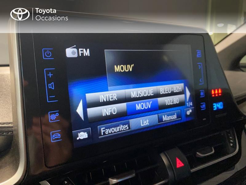 Photo 7 de l'offre de TOYOTA C-HR 122h Edition 2WD E-CVT RC18 à 21980€ chez Altis - Toyota Lorient