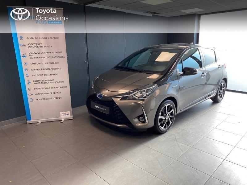 Photo 1 de l'offre de TOYOTA Yaris 100h Collection 5p MY19 à 16990€ chez Altis - Toyota Lorient