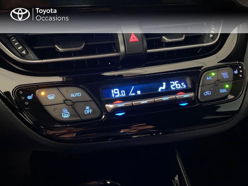 Photo 11 de l'offre de TOYOTA C-HR 122h Edition 2WD E-CVT RC18 à 21980€ chez Altis - Toyota Lorient