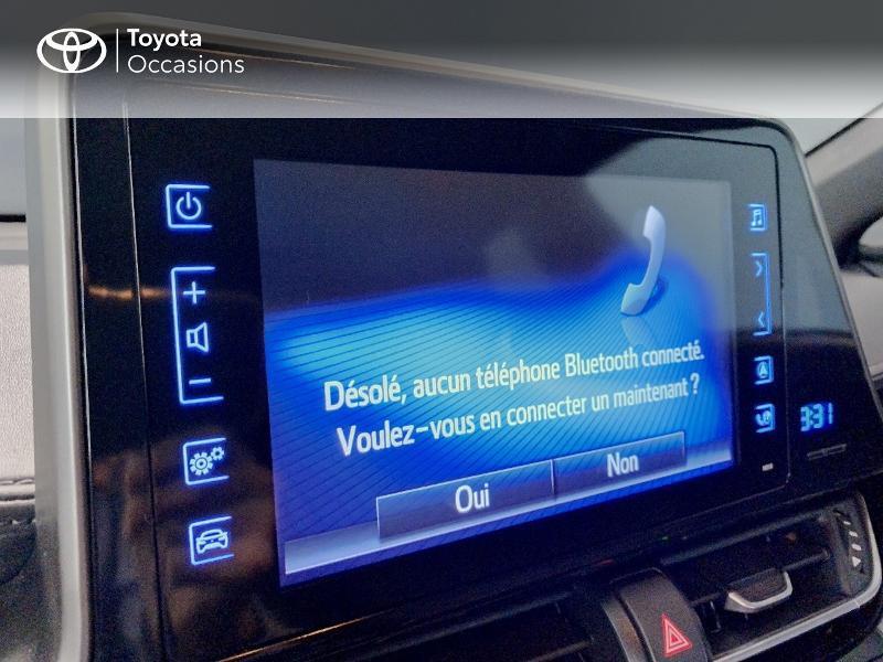 Photo 17 de l'offre de TOYOTA C-HR 122h Edition 2WD E-CVT RC18 à 21980€ chez Altis - Toyota Lorient
