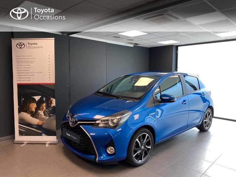 Toyota Yaris HSD 100h Design 5p Hybride Bleu Occasion à vendre