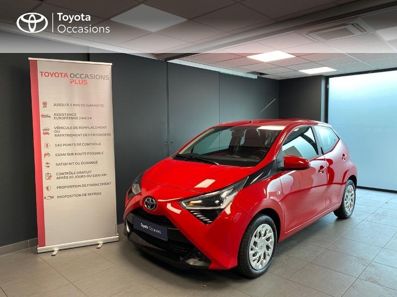 Photo 5 de l'offre de TOYOTA Aygo 1.0 VVT-i 72ch x-play x-app 5p à 10990€ chez Altis - Toyota Lorient