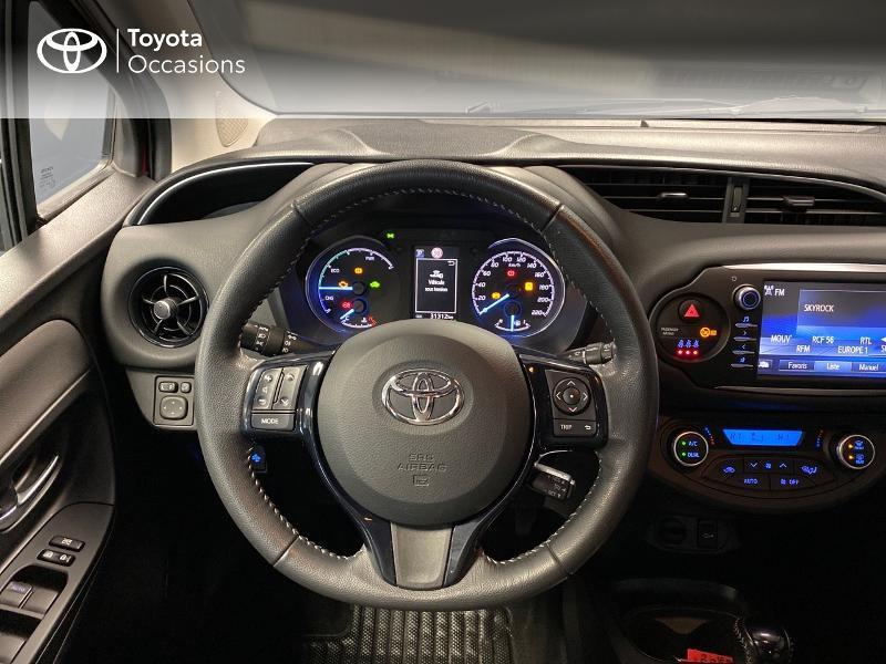 Photo 8 de l'offre de TOYOTA Yaris 100h Dynamic 5p à 13990€ chez Altis - Toyota Lorient