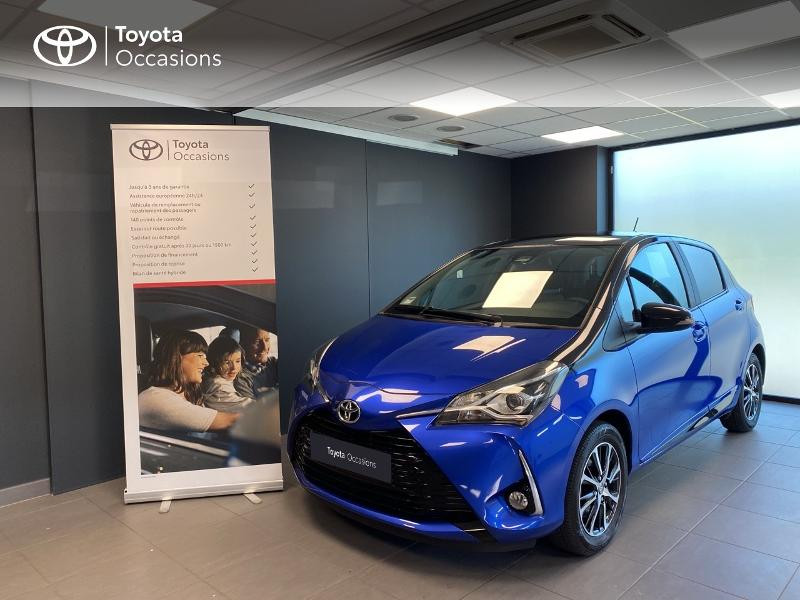 Toyota Yaris 110 VVT-i Design 5p Essence Bleu Occasion à vendre