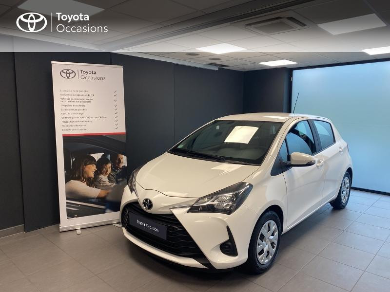 Toyota Yaris 70 VVT-i Ultimate 5p Essence BLANC Occasion à vendre