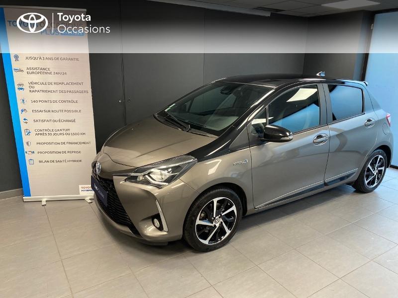 Photo 1 de l'offre de TOYOTA Yaris 100h Collection 5p RC18 à 16990€ chez Altis - Toyota Lorient