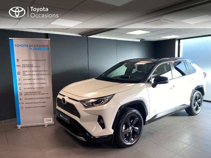 Toyota RAV4 Hybride 218ch Collection 2WD Hybride BI TON BLANC Occasion à vendre