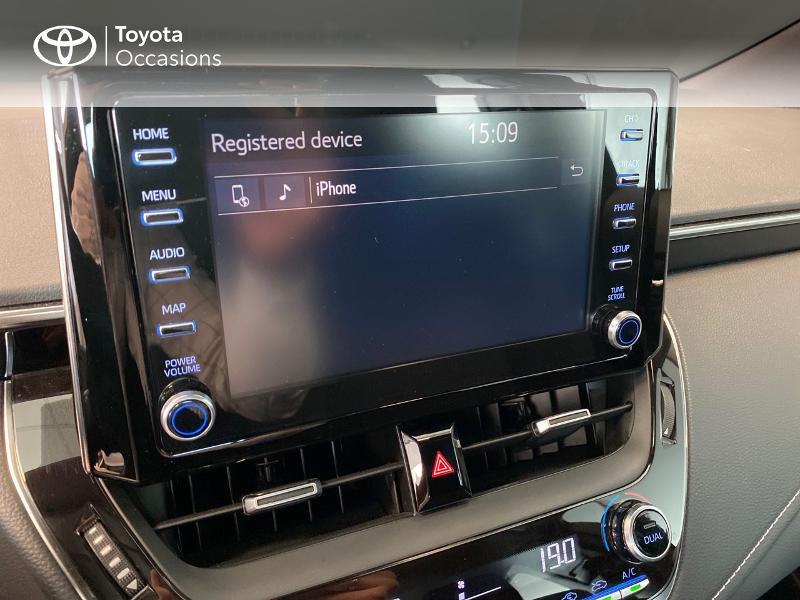 Photo 10 de l'offre de TOYOTA Corolla 122h Dynamic à 20980€ chez Altis - Toyota Lorient