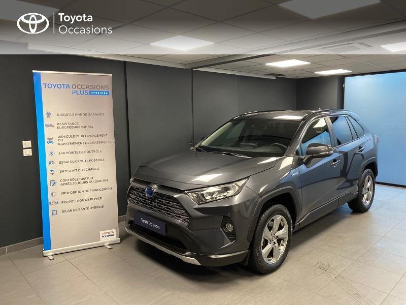 Toyota RAV4 Hybride 218ch Dynamic 2WD MY20 Hybride GRIS ATLAS Occasion à vendre