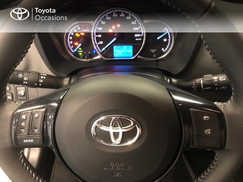 Photo 15 de l'offre de TOYOTA Yaris 70 VVT-i France 5p MY19 à 11490€ chez Altis - Toyota Lorient