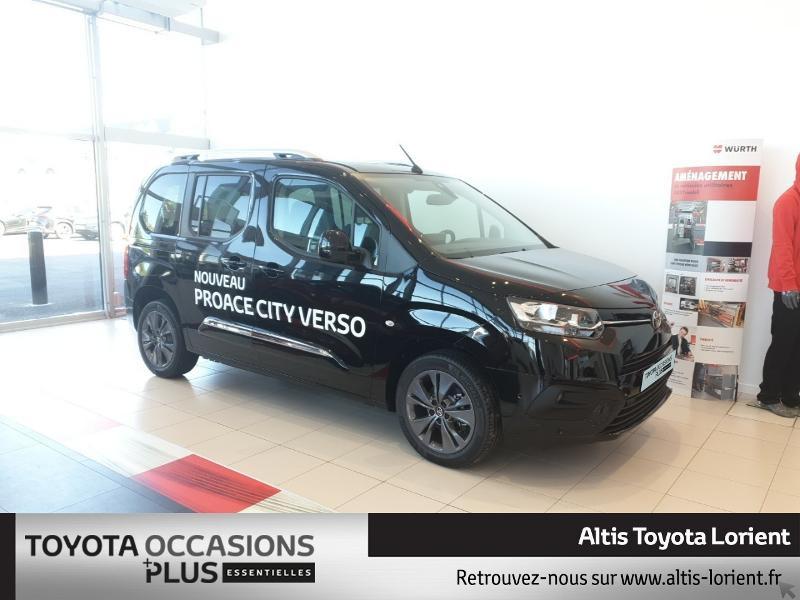 Toyota ProAce City Verso Medium 1.5 100 D-4D Design Diesel Noir Métal Occasion à vendre