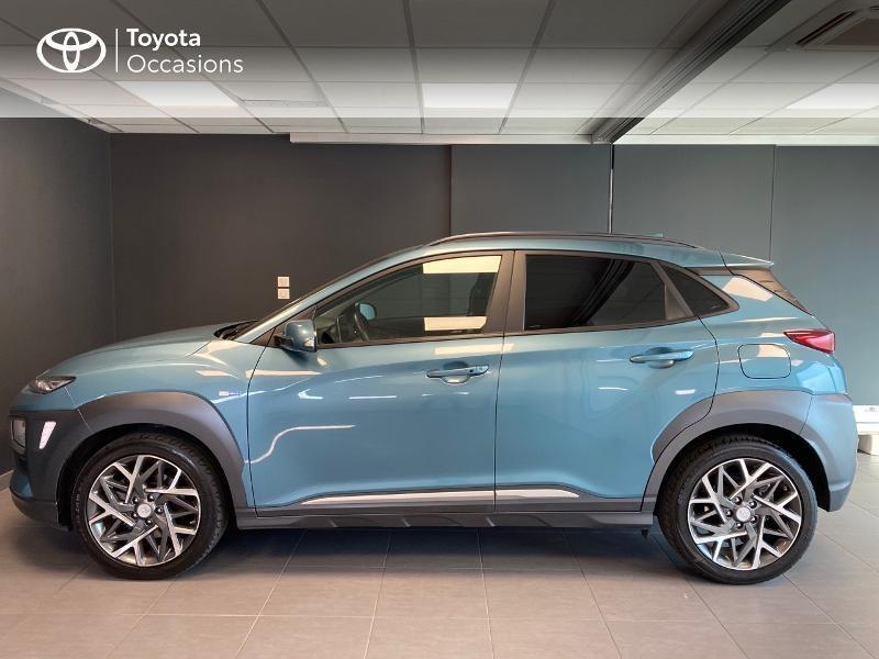 Photo 3 de l'offre de HYUNDAI Kona 1.6 GDi hybrid 141ch Edition 1 DCT-6 Euro6d-T EVAP à 21990€ chez Altis - Toyota Lorient