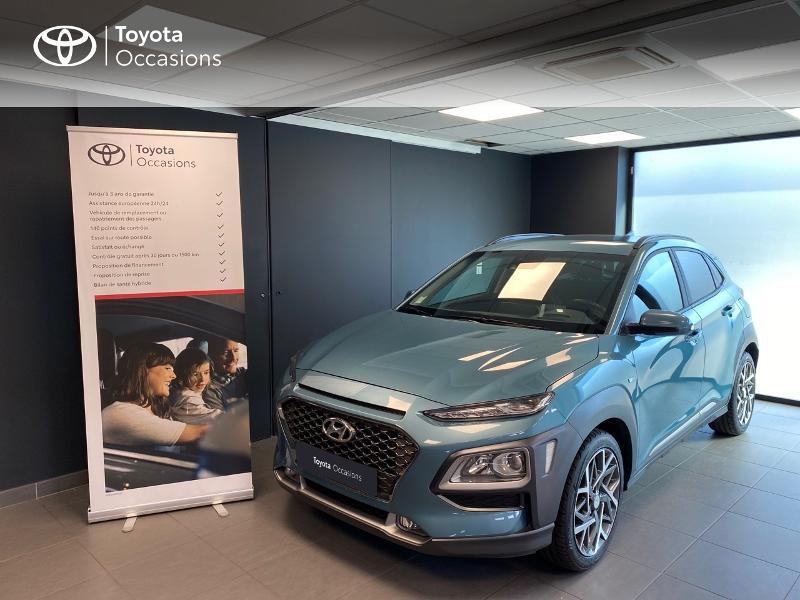 Photo 1 de l'offre de HYUNDAI Kona 1.6 GDi hybrid 141ch Edition 1 DCT-6 Euro6d-T EVAP à 21990€ chez Altis - Toyota Lorient