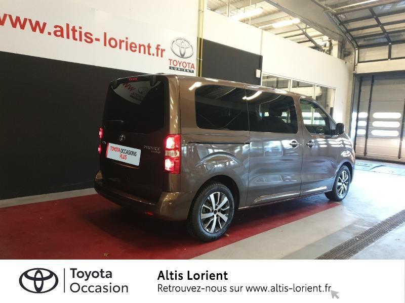 Photo 2 de l'offre de TOYOTA ProAce Verso Medium 2.0 120 D-4D Executive BVA MY20 à 41990€ chez Altis - Toyota Lorient