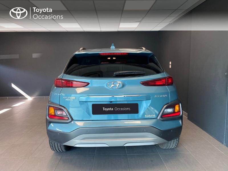 Photo 4 de l'offre de HYUNDAI Kona 1.6 GDi hybrid 141ch Edition 1 DCT-6 Euro6d-T EVAP à 21990€ chez Altis - Toyota Lorient