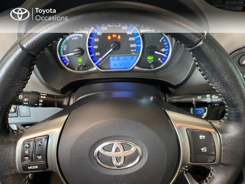 Photo 13 de l'offre de TOYOTA Yaris HSD 100h Dynamic 5p à 12970€ chez Altis - Toyota Lorient