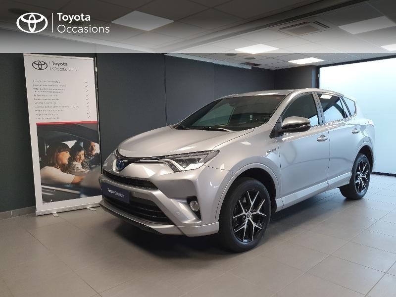 Toyota RAV4 197 Hybride Dynamic Edition 2WD CVT Hybride gris clair Occasion à vendre