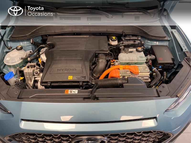 Photo 21 de l'offre de HYUNDAI Kona 1.6 GDi hybrid 141ch Edition 1 DCT-6 Euro6d-T EVAP à 21990€ chez Altis - Toyota Lorient