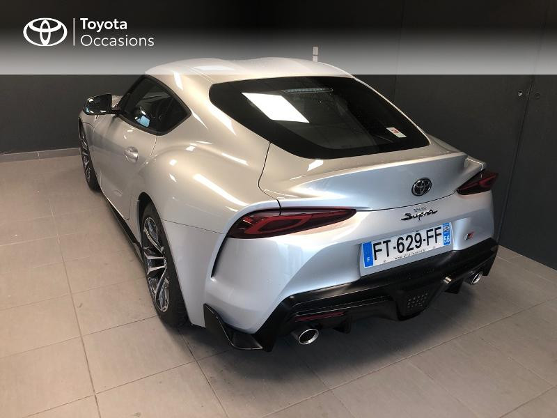 Photo 2 de l'offre de TOYOTA Toyota Supra Toyota GR Supra 258ch GR Supra PkPrem Showroom à 56990€ chez Altis - Toyota Lorient