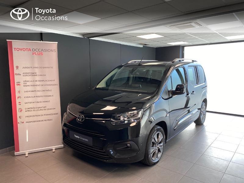 Toyota ProAce City Verso Medium 1.5 100 D-4D Design Diesel Noir Occasion à vendre